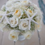 starfish bouquet sanibel island wedding