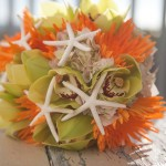 starfish bouquets sanibel island wedding
