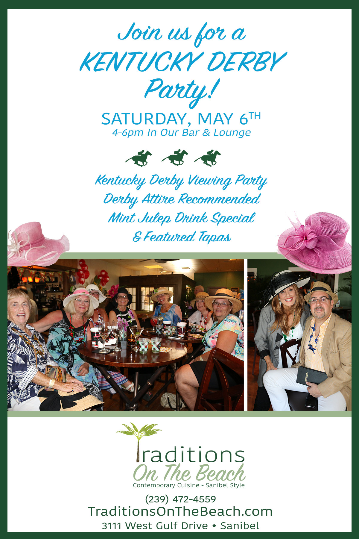 sanibel kentucky derby event