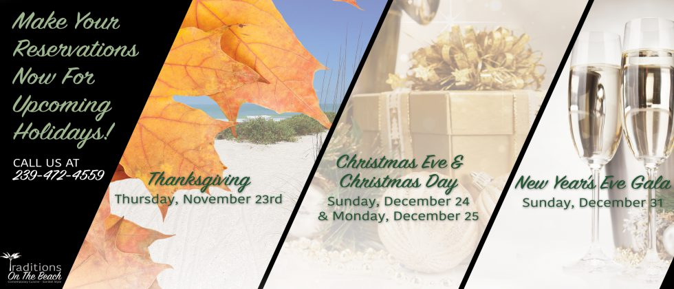 Upcoming Holidays slider